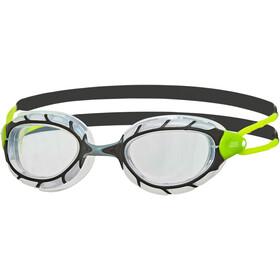 Zoggs Predator Lunettes de protection, black/lime/clear